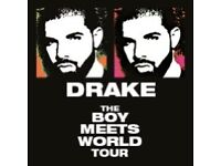 Drake tickets for Sunday