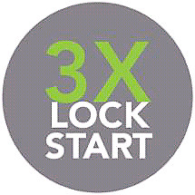 3x Lock Remote Start Feature