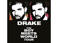 4 Seated Tickets for Drake Feb 4th Boy Meets World Tour