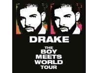 Drake tickets x2 28th jan
