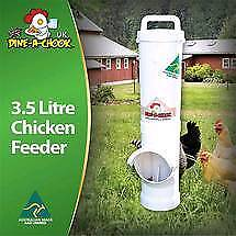 Dine a chook feeder and drinker