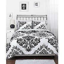 Captivating Black And White Teen Bedding
