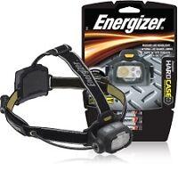 Energizer Hard Case Professional 4 LED Headlight, Black/Gray