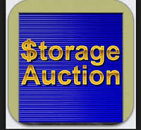 Storage Auction October 24 at noon!