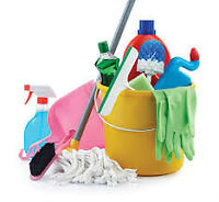 Move in/ move out cleaning services available