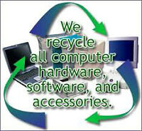 FREE COMPUTER PICK-UP RECYCLING AND DISPOSAL