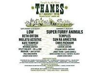 Caught by the river Thames Festival - Low, Beth Orton, Temples, SFA, Mulatu Astatke 6/7.Aug