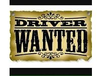 Delivery driver required WANTED