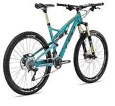 T-130 2015 Dual Suspension Mountain Bike Hardly Used SMALL FRAME