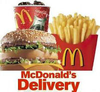 McDonalds Independent Delivery Service/My-Delivery.ca