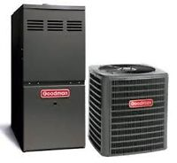 RENT TO OWN Energy Star Furnaces & ACs  Call 289-356-0641