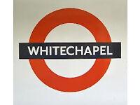 Whitechapel Underground 3 Bedroom Flat New Bathroom New Kitchen