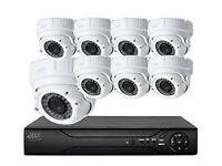 cctv security camera kit idvision system hq hd