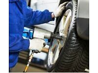 Tyre Fitter Required in the Nottingham Area, Full time job position