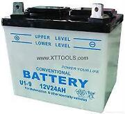 Riding Mower Battery