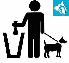 WE WILL PICK UP YOUR DOG POOP!