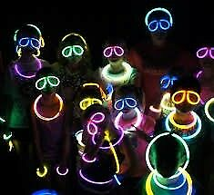 GLOW GLASSES Hen Birthday Halloween Party Decoration GLOW Sticks Light Neon Party