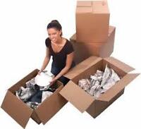 Packing and cleaning Services ! Fast and Efficient !