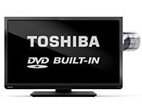 """Toshiba 32"""" Built in DVD Player Full HD Free Delivery"""