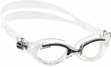 Cressi Flash Swim Goggles Ladies - for Women (Made in (Goggles For Ladies)