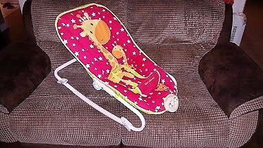 Mothercare Little Circus Vibrating Musical Bay Chair