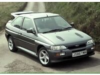 WANTED!! Ford Escort Rs Turbo Cosworth Sierra Sapphire