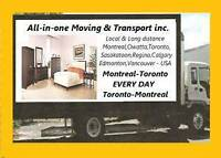 Moving $45/HR 2 MEN Montreal Region Best price in the town
