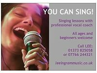YOU CAN SING! Singing Lessons with Professional Vocal Coach