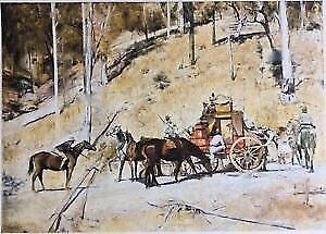 Bailed Up by Tom Roberts (canvas print)  RRP$60 Mornington Clarence Area Preview