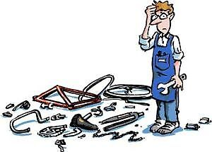 BICYCLE REPAIRS FREE ESTIMATES & NO APPOINTMENTS NEEDED!!