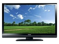toshiba tv with bulit in DVD player