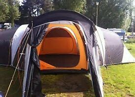 Vango Diablo 900XL Tent and complete set of Camping Equipment only used twice