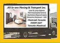 Moving $65/HR 2 MEN Montreal Region, Best Toronto, Calgary & BC