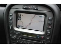 Latest 2012 Sat Nav Disc Update for JAGUAR XJ, S-TYPE, X-TYPE Navigation DVD. www latestsatnav co uk