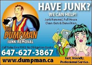 The Dumpman - Realtors #1 Choice - Junk Removal + Demolition