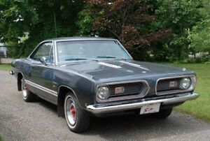 1968 Plymouth Barracuda Coupé 2 portes Coupé