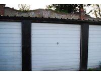 Lock-up garage for rent in Sutton, nr Carshalton, Cheam, Wallington, Morden, Mitcham