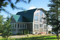 Chalet Style Home with Acreage - Markstay Ont.