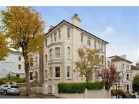 One bed top floor very bright flat available now, 3 mins to main station and 7 dials