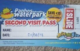 4xPaphos waterpark tickets