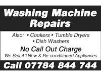 washing machine repairs e.t.c.
