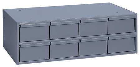 DURHAM MFG 003-95 Drawer Bin Cabinet, 11-5/8 In. D, Gray