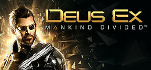 Deus Ex Mankind Divided game for PC