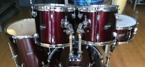 Drums Ludwig  Accent CS 5 pieces with Cymbals and Stand
