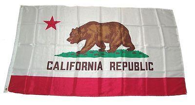 Fahne / Flagge Kalifornien / Californien 90 x 150 cm
