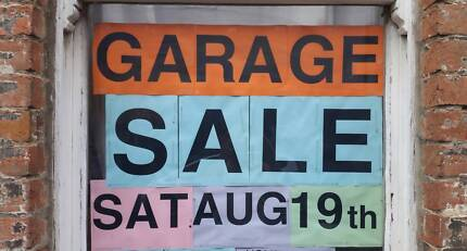 Moving House Garage Sale