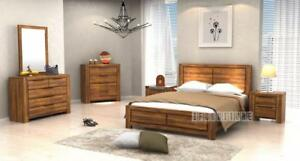 ifurniture Hot Deals- -- Solid Wood Bedroom Complete Combo starts from $1175