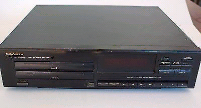 Pioneer PD-Z72T 2 disc twin tray CD Player Hi-Fi vintage