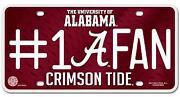 Alabama Car Tag