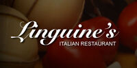 Linguine's Italian Restaurant is looking for a Dishwasher!